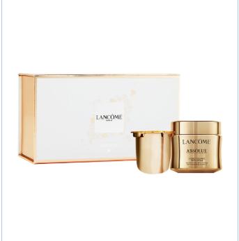 兰蔻菁纯精粹乳霜两件套套装Lancôme Absolue Soft Cream Duo