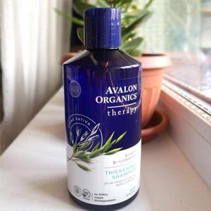四瓶包邮包税!Avalon Organics 生物素B群厚发洗发水