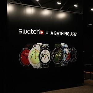 SWATCH x BAPE® 联名腕表来袭