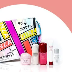The Bay有Shiseido资生堂$64送6件套大礼包