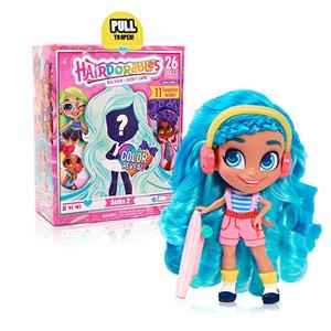新低!美国 Hairdorables  2代 美发娃娃
