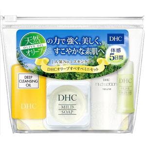 DHC 护肤旅行四件装(卸妆+洁面+美容油+化妆水)