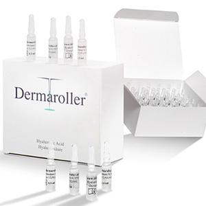 2件装!Dermaroller 玻尿酸原液安瓶精华1.5ml*30只装