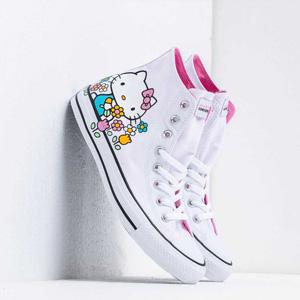 Converse x Hello Kitty Chuck Taylor All Star高邦休闲鞋