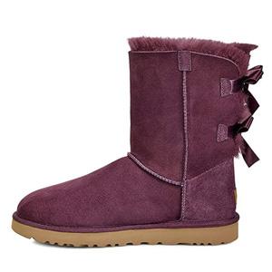 UGG女士蝴蝶结雪地靴