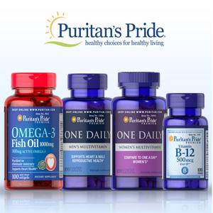 Puritan's Pride普瑞登官网精选自营保健品买2送4+额外8折促销