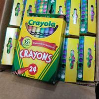Crayola绘儿乐 蜡笔 24色*6盒