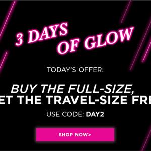 Glam Glow官网精选面膜买正装送其旅行装