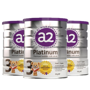 A2 婴幼儿配方奶粉 3段 900g*3罐