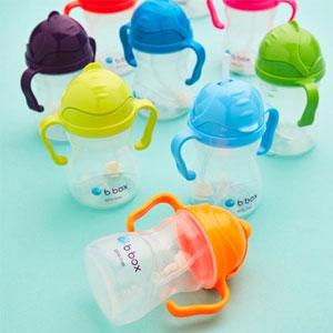 近期低价!BabyHaven中文官网B.box婴幼儿重力球吸管杯