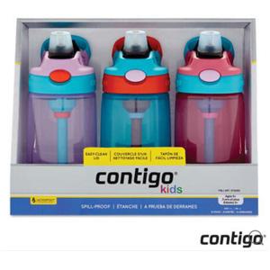 Contigo 康迪克 儿童吸管杯 防漏 414mlX3 (女孩)