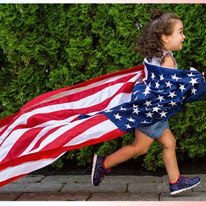 Stride Rite美国站Independence Day独立日精选童鞋低至5折促销