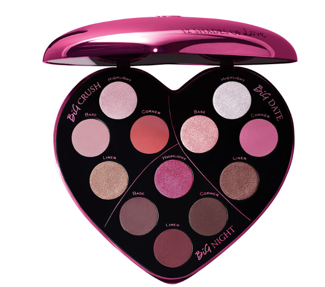 新款兰蔻12色爱心眼影盘Lancôme Monsieur Big Heart Eyeshadow Palette