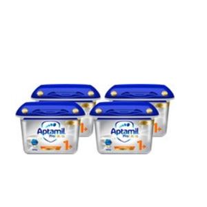 4罐装!Aptamil 爱他美 Profutura 白金版婴儿全新配方奶粉 1段 12月+ 800g