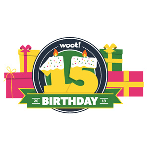 Woot同步会员日促销上线Woot Turns 15闪购专题