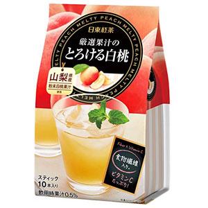 日东红茶 白桃水蜜桃红茶 10支*6袋装