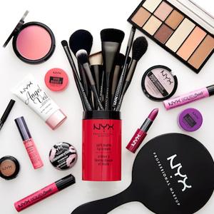 NYX cosmetics美国官网全场彩妆订单满$30送正装定妆喷雾