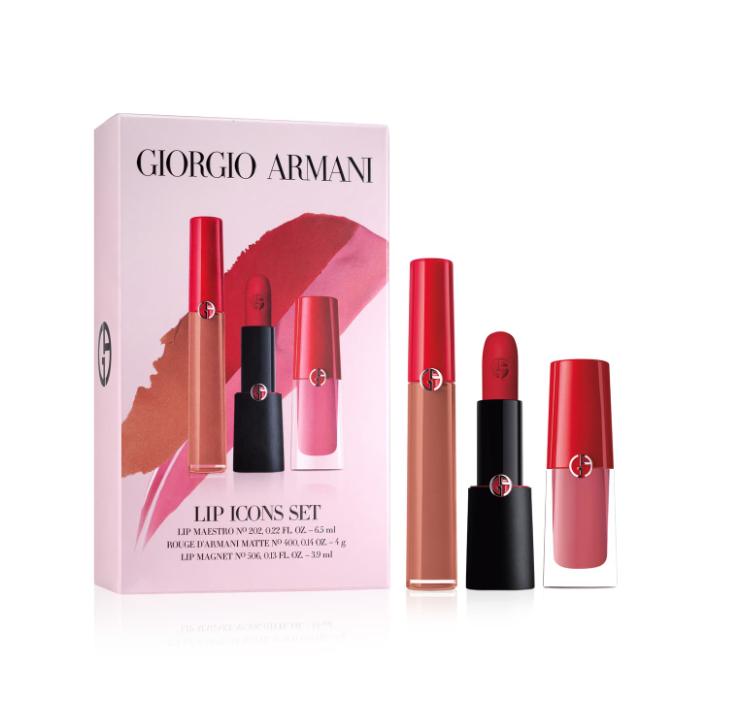 Giorgio Armani 唇膏套装Lip Icons Set