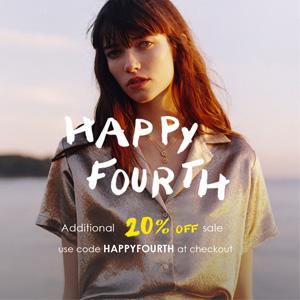 Maje美国官网Independence Day精选服饰低至5折+额外8折