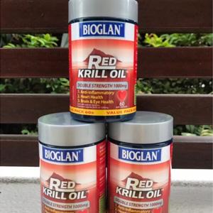 澳洲Bioglan 双倍加强型红磷虾油胶囊 1000mg*60粒