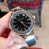 新低!Anne Klein安妮·克莱因 AK-1408BKBK 星空镶钻女士石英手表