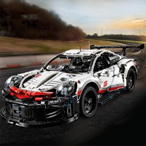 新低!LEGO乐高 保时捷 911 RSR (42096)