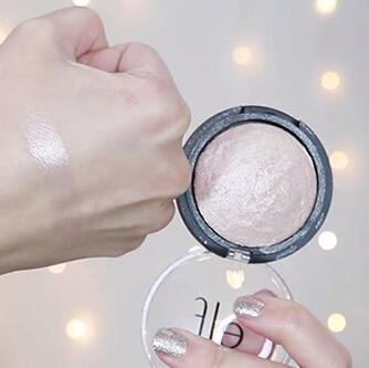 K妹推荐!e.l.f 烘焙高光粉饼 moonlight Pearls 香槟色