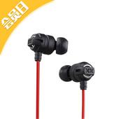 JVC杰伟士 HA-FX1X XX系列 入耳式耳机 黑色
