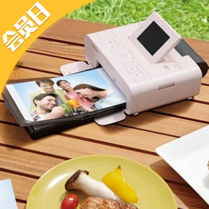 Canon佳能 CP1300 便携式照片打印机 粉色款
