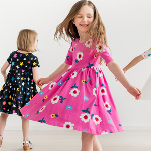 Hanna Andersson现有精选儿童裙装$20-$30闪促