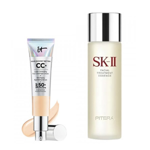 IT Cosmetics  CC霜+SK-II神仙水组合购