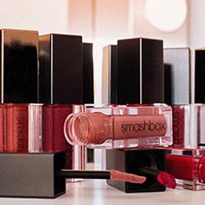 升级!Smashbox国际口红日精选唇部彩妆立减$5+满送妆前和化妆包