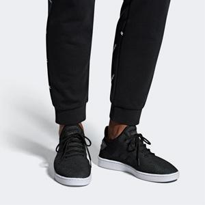 限4码!Adidas 阿迪达斯 Court Adapt男鞋 黑色款