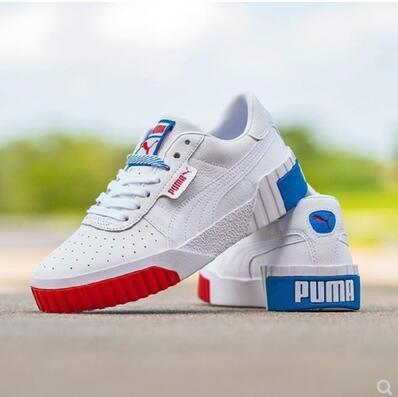 Puma彪马 Cali Exotic女款板鞋  红白蓝