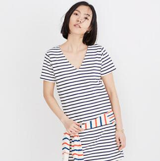 Madewell官网精选美裙低至4折+额外8折促销