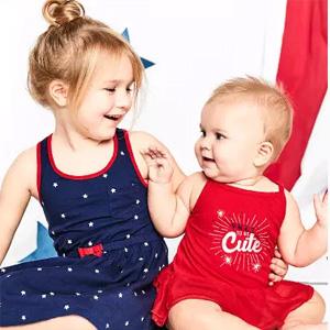Carters卡特返校季全场儿童服饰5折+满$50额外8折促销