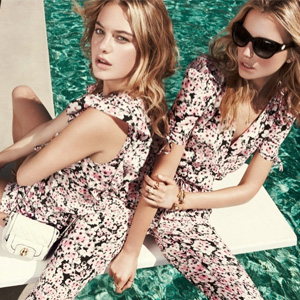 Juicy Couture现有全场服饰最高满$300额外5折促销