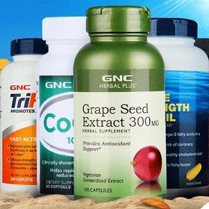 GNC全场保健产品第二件半价+满$50减$10
