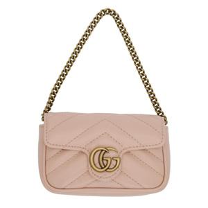 Gucci古驰双GG Marmont手包链条包二合一