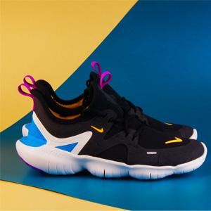 NIKE FREE RN 5.0大童款赤足运动鞋