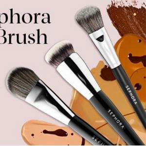 丝芙兰美国官网买正装粉底液可以半价买Sephora化妆刷