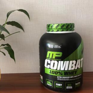 一件免邮!MusclePharm肌肉科技100% Combat 清蛋白粉 2.2kg 多口味