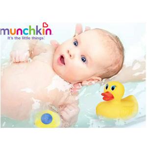 凑单品!Munchkin 满趣健 婴儿感温变色澡盆玩具鸭