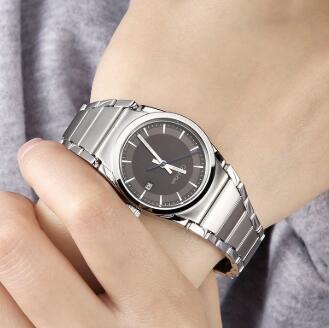 好价!Calvin Klein 卡尔文·克莱因 Step 系列 银色女士时装腕表 K6K33143