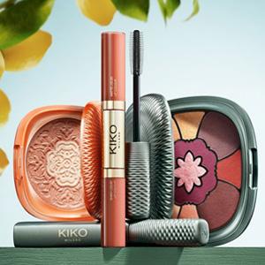 Kiko美国有SICILIAN NOTES新品彩妆系列3件8折促销