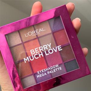 浆果紫!L 'Oreal 欧莱雅16色眼影盘