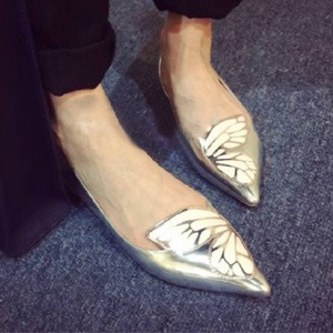 Sophia Webster 蝴蝶平底鞋