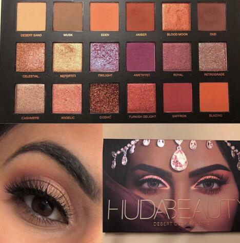 Huda Beauty Desert Dusk沙漠黄昏18色眼影盘