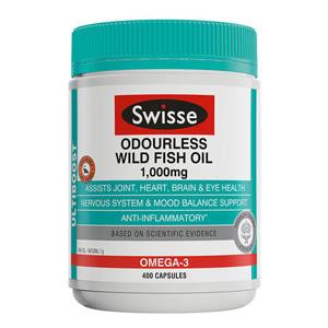 Swisse 野生深海鱼油胶囊 400粒(无腥味)