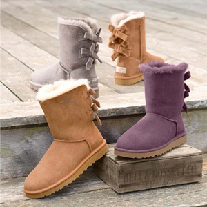 Gilt现有精选UGG童款雪地靴低至66折促销